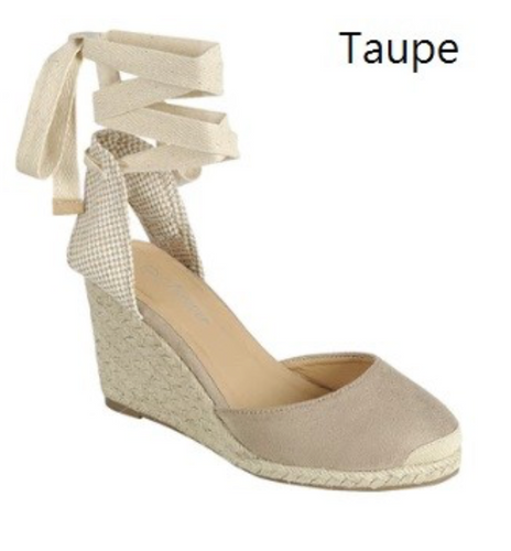 Jess Wedges - TAUPE