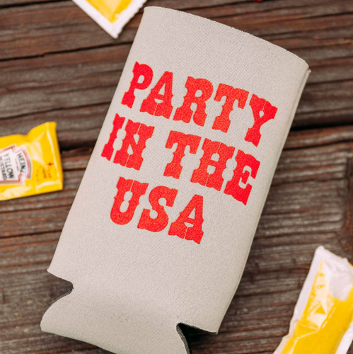 Party In The USA Koozie