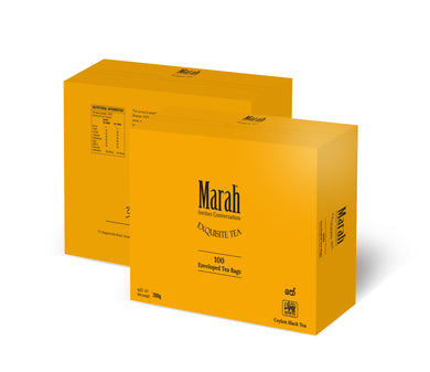 Marah Pure Ceylon Black Tea 2g x 100 Enveloped Tea Bags
