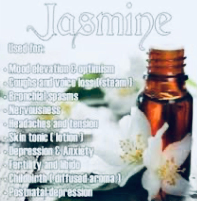 Jasmine Absolute.. ABSOLUTELY my favorite oil for my face and hair