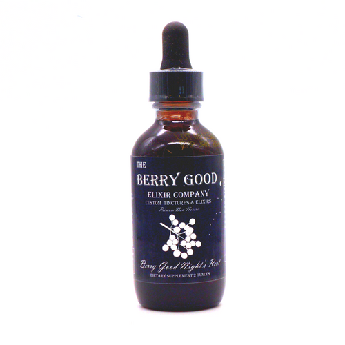 Berry Good Night's Rest organic herbal supplement