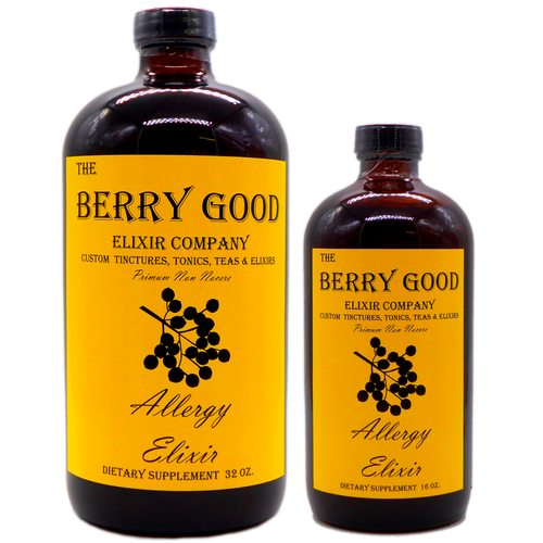Allergy Elixir, Allergies, Asthma, COPD, natural health, natural healing herbs
