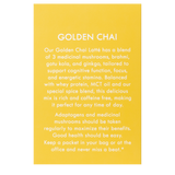 Golden Chai Latté