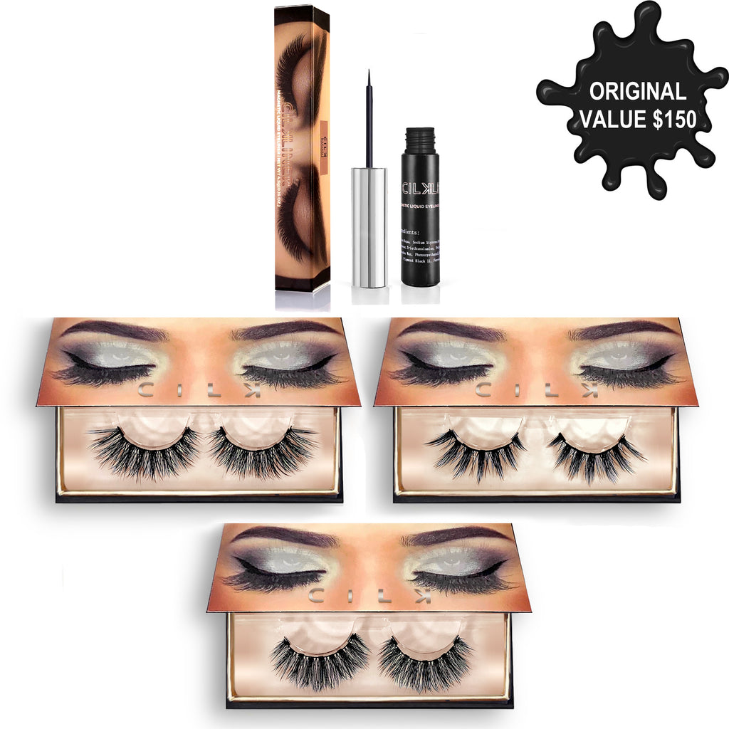 INTENSE KIT - CILK LASHES