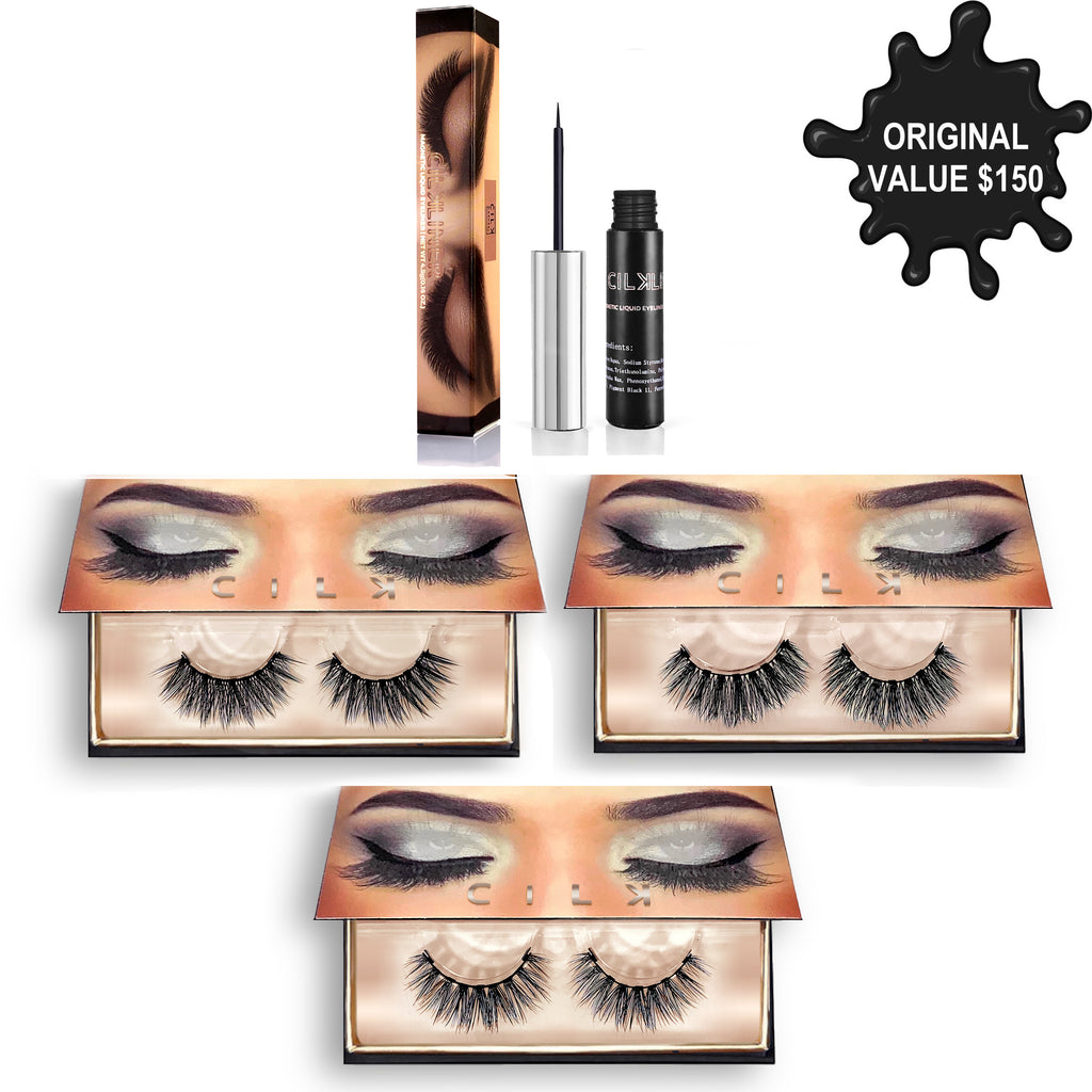 MEDIUM INTENSITY II KIT - CILK LASHES