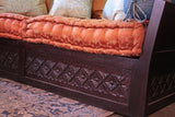 Double High Back Diamond Carving Sofa and DayBed