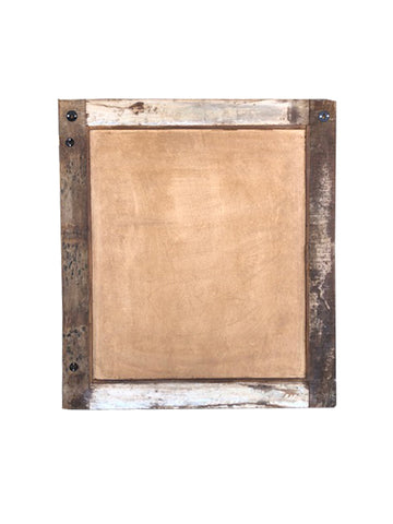 ... Vintage Wood Frame With Mirror