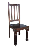 Hand carved dining chair