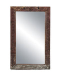 Vintage Wood Frame With Mirror