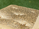 Champagne  Meditation Tufted Cushion