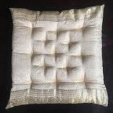 Cream raj chair cushion