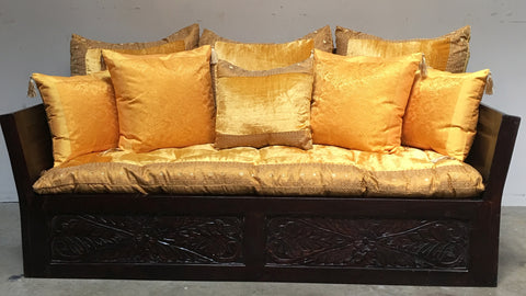 Hand Carved Sheesham wood Double size Sofa