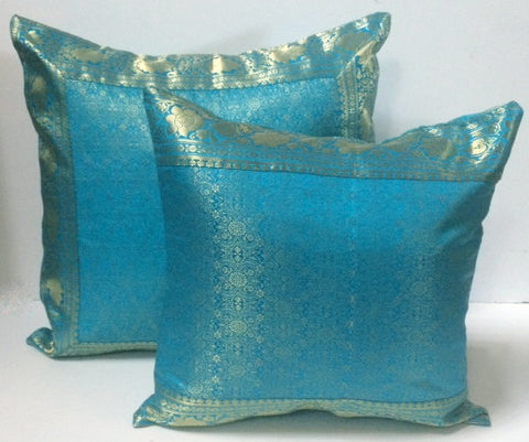 Indian sari pillows Cover