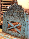 Vintage Turquoise Chair