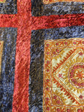 Indian vintage Velvet  Bedspread