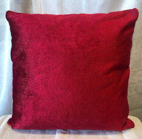 Red Velvet Pillow