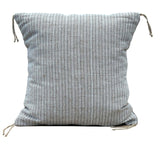 Gray Linen And Cotton Pillow Case