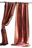 Indian Sari Fabric Burgundy Curtain-Kela
