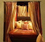 Indian Four Poster Canopy Bed