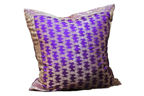 Electric Purple Fatima Pillow Covers
