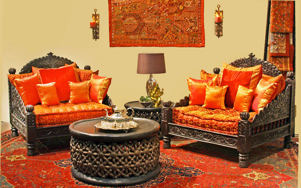 jhula single seat indian hand carved furniture chair tara tara design. Black Bedroom Furniture Sets. Home Design Ideas