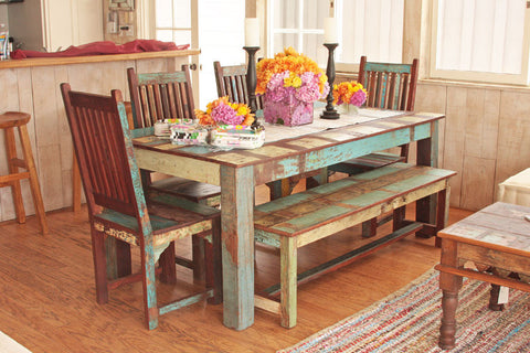 Reclaimed Wood Dining table Sets