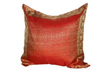 sari pillow cover