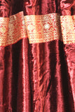 Burgundy Wine Velvet Curtains