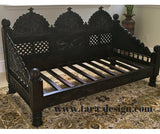 Authentic Indian Carved DayBed