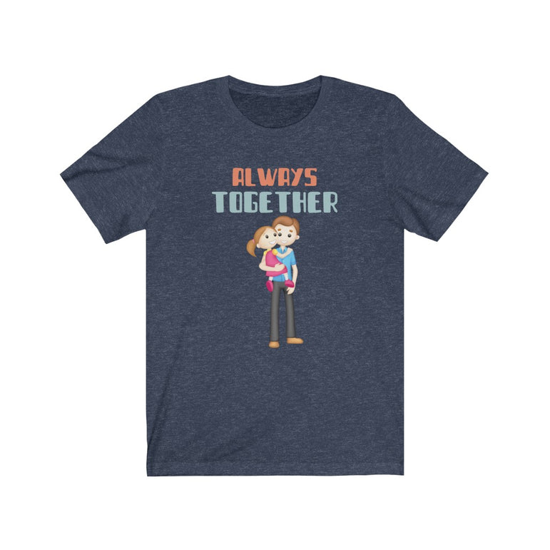 t shirt father daughter- Unisex