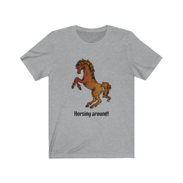 t-shirt with horses on it- Unisex