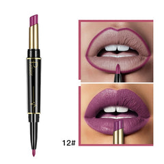 Pudaier Matte Lipstick Wateproof Double Ended Long Lasting
