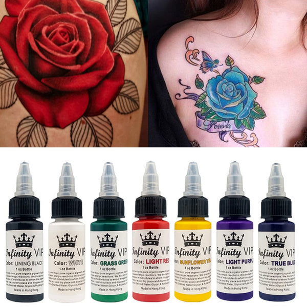 30ml Natural Plant Tattoo Pigment Permanent Bottle
