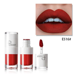Pudaier Liquid Matte Lipstick Lip Gloss Waterproof