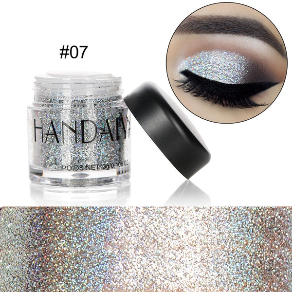 Holographic Sequin Diamond Colorful Glitter Gel