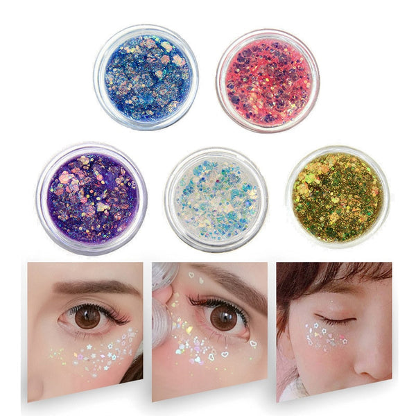 Eye Glitter Nail Hair Body Face Glitter Gel