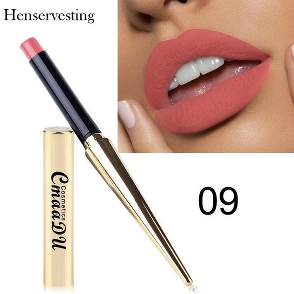 8 colors Matte Lipstick Sexy Nonstick Cup Long Lasting