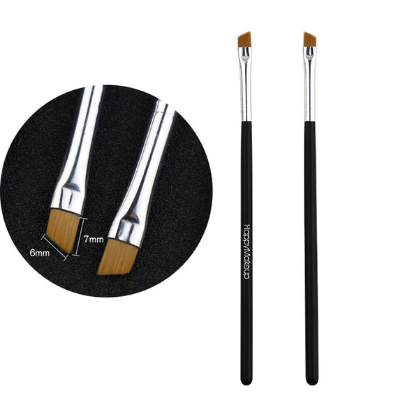 2Pcs Makeup Brush Cosmetic Brushes Kabuki Face Nose Brushes