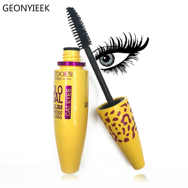 Makeup Cosmetic Length Extension Long Curling Eyelash Black Mascara