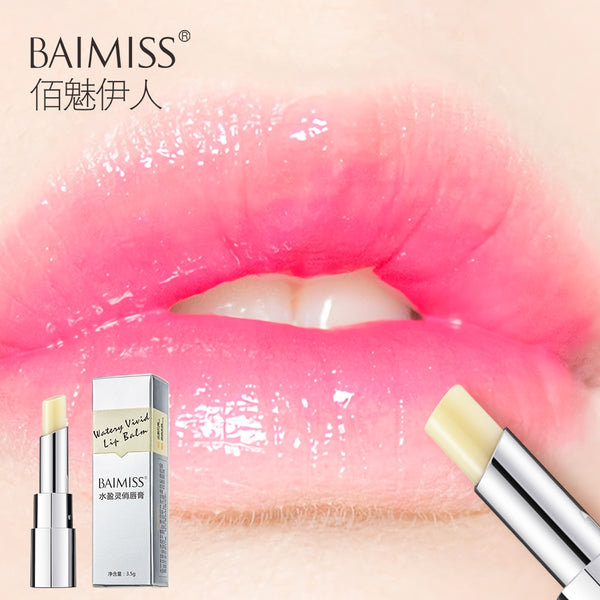 BAIMISS Watery Vivid Lip Balm Highly Nourishing Moisturizing