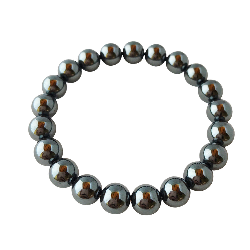 6mm Hematite Bracelet - A Peace of Mind Jewelry & Boutique