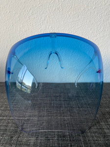 Blue Ombré Face Shield