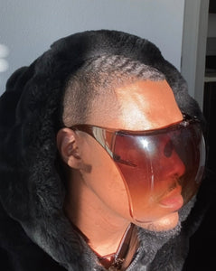 Dior Brown Face Shield