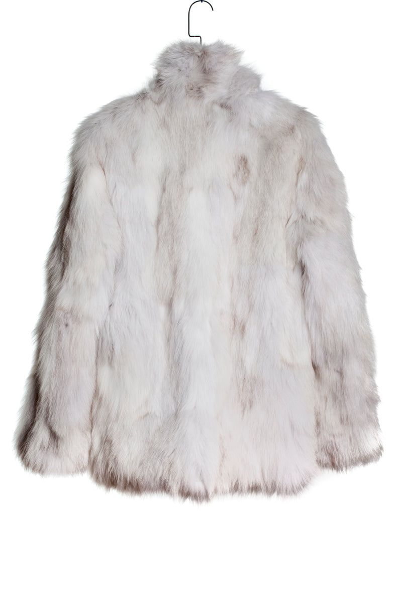 UP-CYCLED FOX FUR COAT