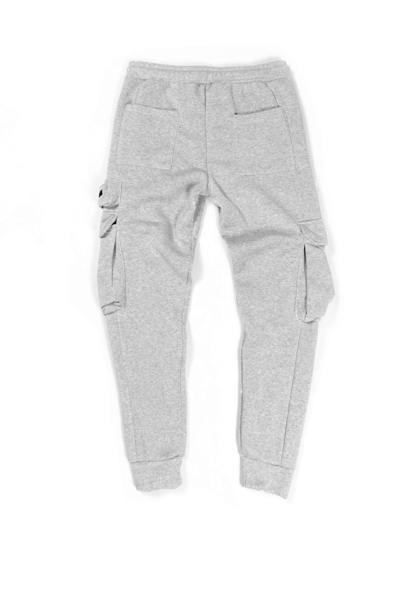 Fleece Cargo Jogger [GRY]
