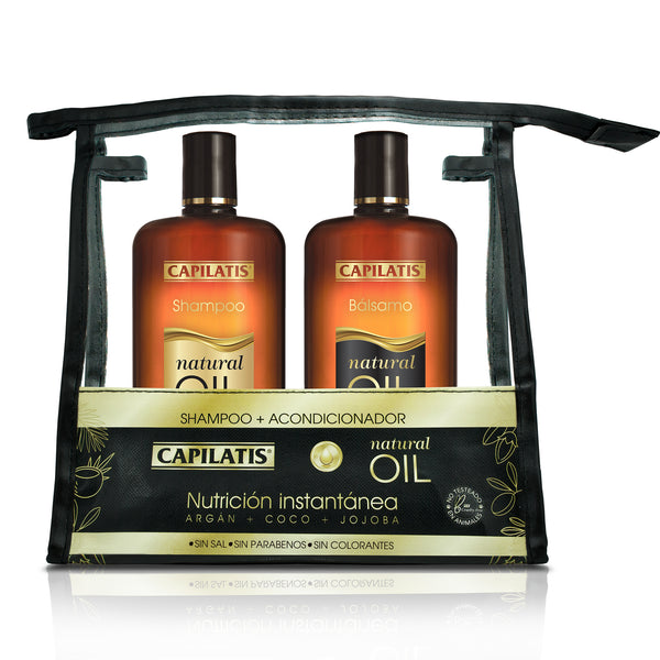 Set Natural Oil + Cosmetiquero