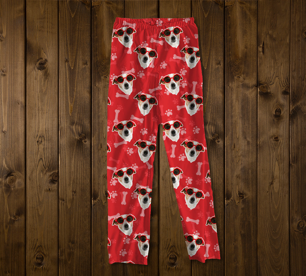 "Custom ""Dog Bones"" Photo Pajamas"