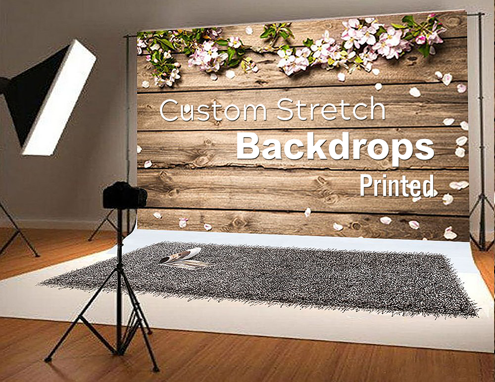 Stretch Backdrop - 5FTx8FT