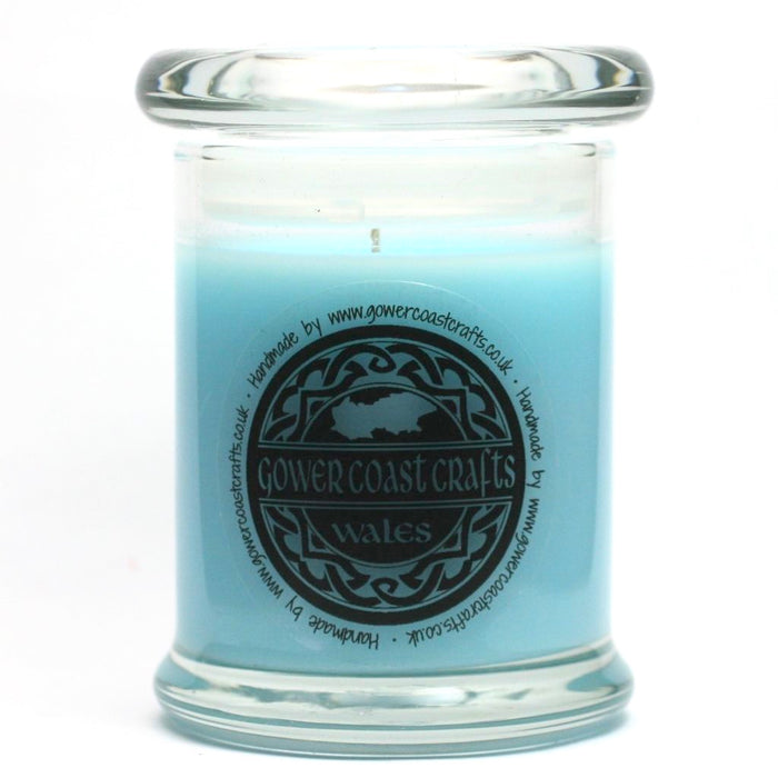Sweet Pea Handpoured Highly Scented Medium Candle Jar