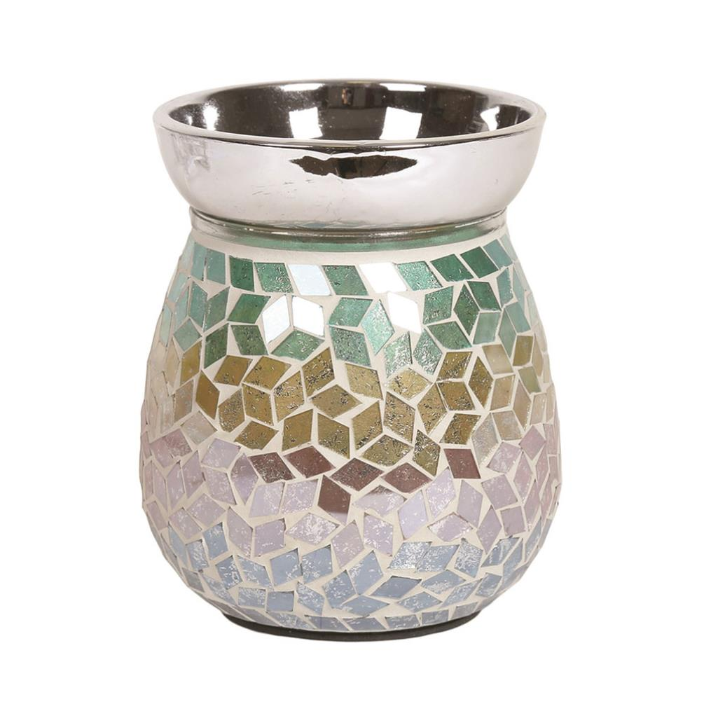 Diamond Tricolour Electric Wax Warmer/Burner with a pack of 10 FREE Scented Melts (3152)